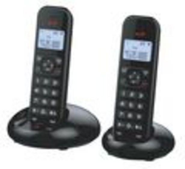 Oferta de Teléfono inalámbrico dúo con altavoz y manos libres por 35,3€
