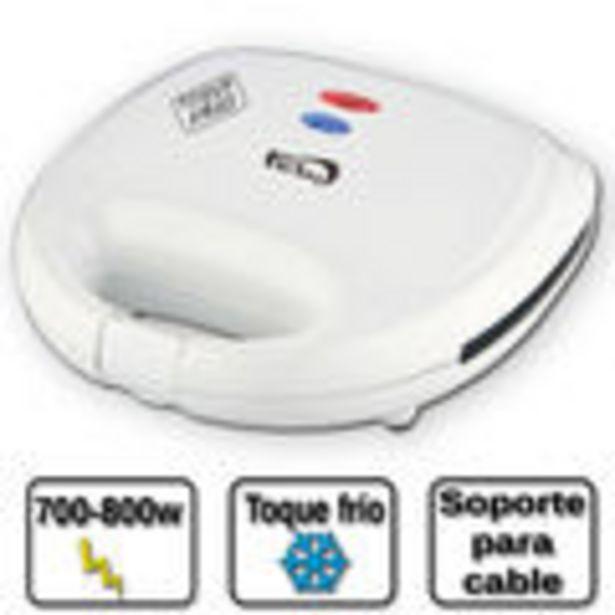 Oferta de Sandwichera marca Fersay, modelo: SNW5010B, color blanco, potencia:800W, voltaje: 230V, facil limpie... por 15,75€