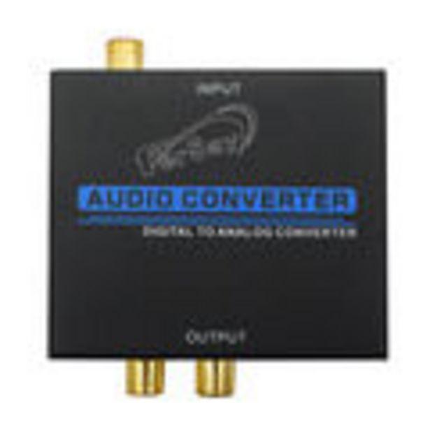 Oferta de Convertidor de audio de señal digital a señal analógica por 13,27€