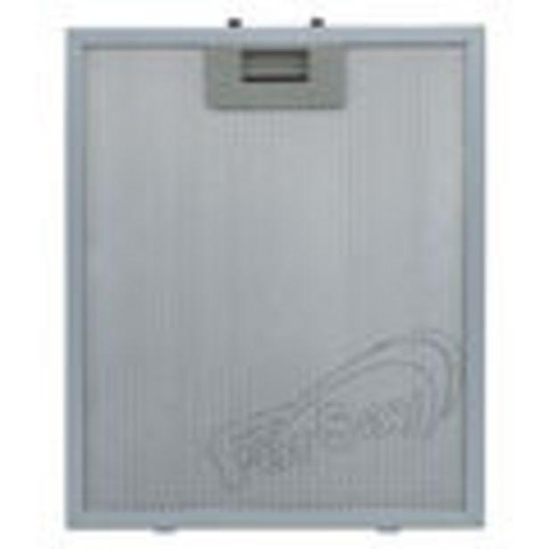 Oferta de Filtro metalico para campana extractora de cocina Cata, standard, maneta neutra; Medidas 260 x 320x ... por 18,23€