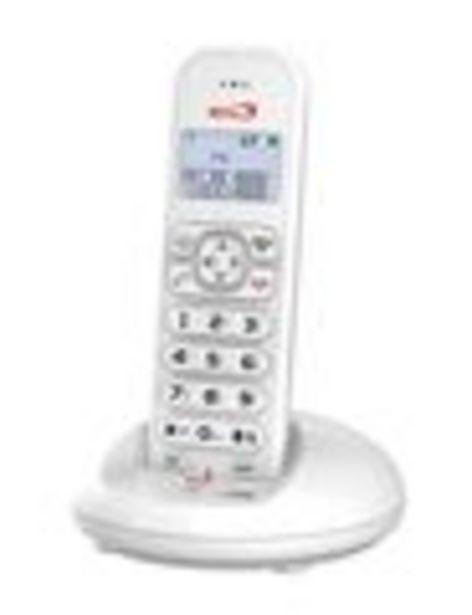 Oferta de Teléfono inalámbrico single con pantalla LCD por 30,5€