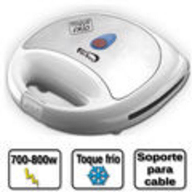 Oferta de Sandwichera marca Fersay, modelo: SNW5020B, color blanco/ inox, potencia: 800W, voltaje: 230V, facil... por 15,75€