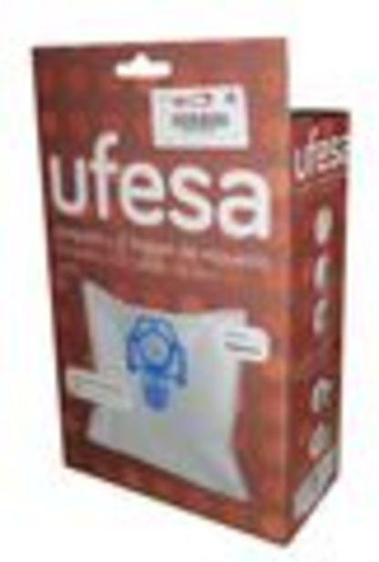 Oferta de Bolsas para aspirador Ufesa 00579169. Contenido 00579169  cada caja contiene 4 unidades por 22,49€
