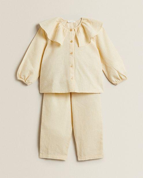 Oferta de Pijama Vichy Cuello Bobo por 29,99€