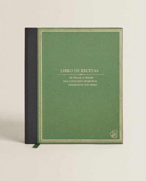 Oferta de Cuaderno De Recetas por 15,99€