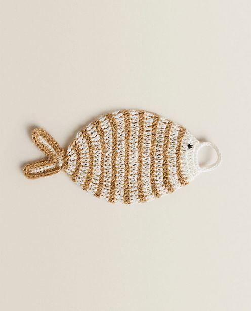 Oferta de Exfoliante Corporal Forma Pez Crochet por 9,99€