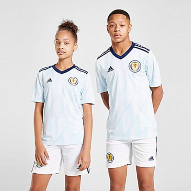 Oferta de Adidas selección de Escocia FA 2020 2. ª equipación camiseta júnior por 70€