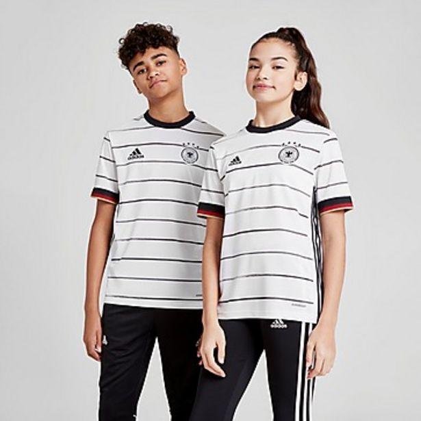Oferta de Adidas camiseta selección de Alemania 2020 1.ª equipación júnior por 15€