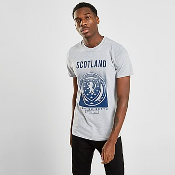 Oferta de Official Team camiseta Scotland FA Fade por 22€