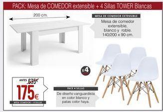 Oferta de Comedor por 175€