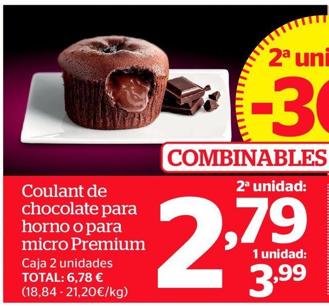 Oferta de Coulant de chocolate por 2,79€