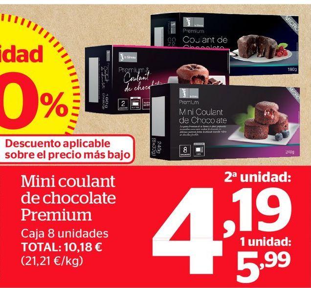 Oferta de Coulant de chocolate por 4,19€