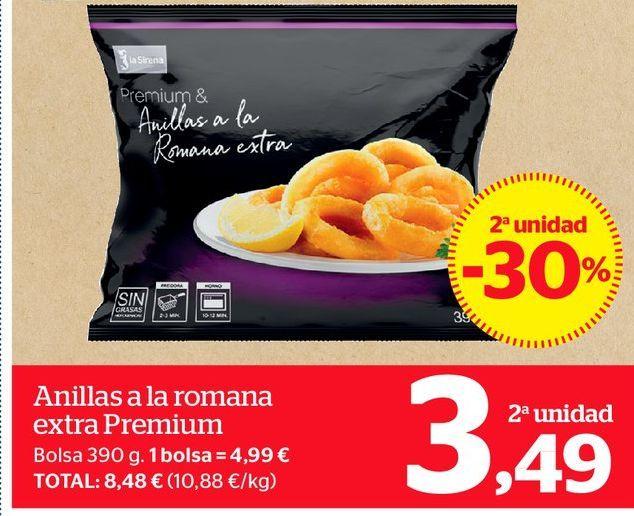 Oferta de Anillas a la romana extra Premium por 3,49€
