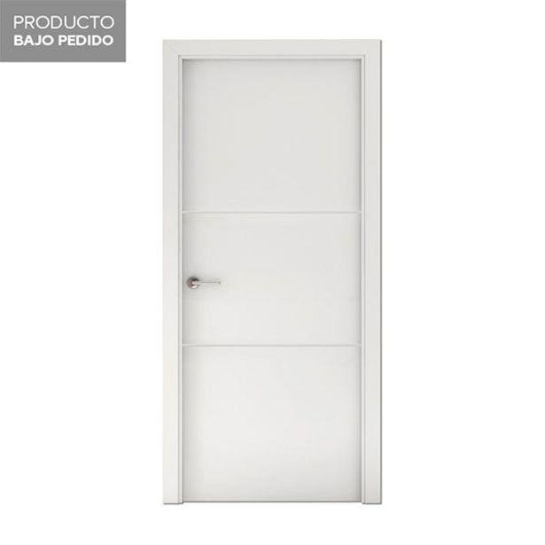 Oferta de Puerta PH2 lacada blanca derecha 203 x 72,5 cm por 119€