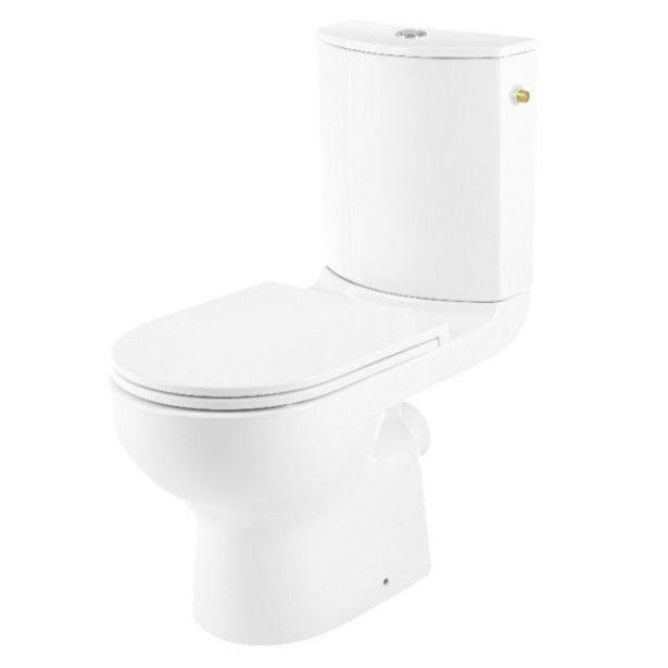 Oferta de PACK WC CAVALLY SALIDA HORIZONTAL por 99,95€