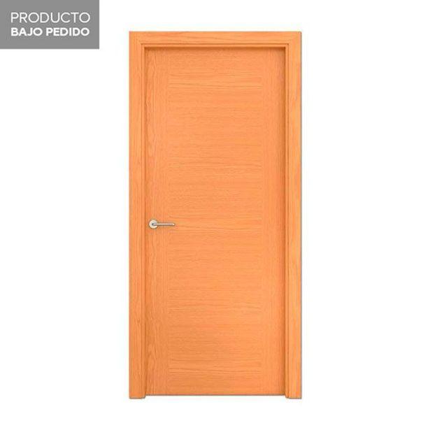 Oferta de Puerta Roble Fajeado melamina derecha 203 x 72,5 cm por 109€