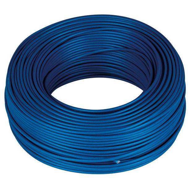 Oferta de CABLE H07V-K 1 X 2.5 - 100 M AZUL por 28,4€