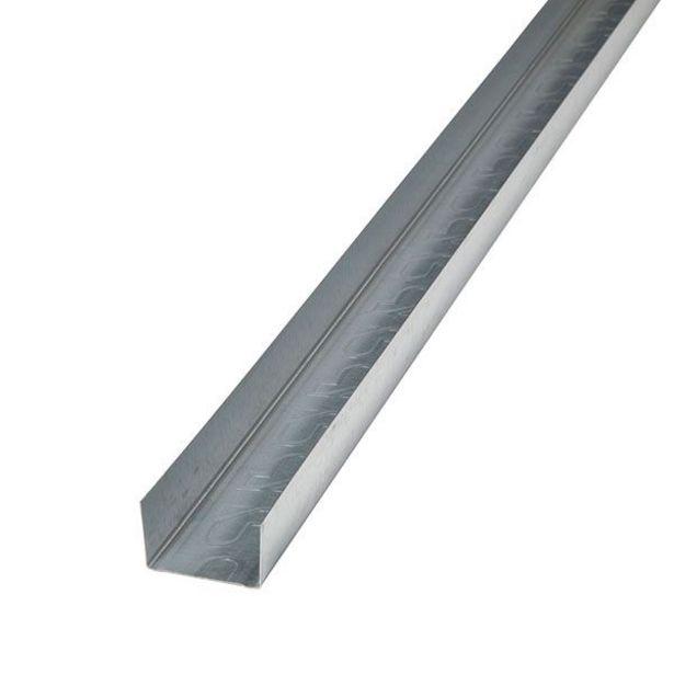 Oferta de Canal galvanizado para tabiques Pladur 300 x 4,7 x 3 cm por 2,75€