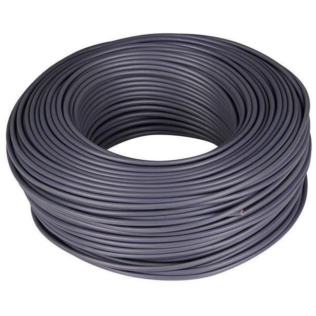 Oferta de CABLE H07V-K 1 X 1,5 - 100 M GRIS por 17,5€