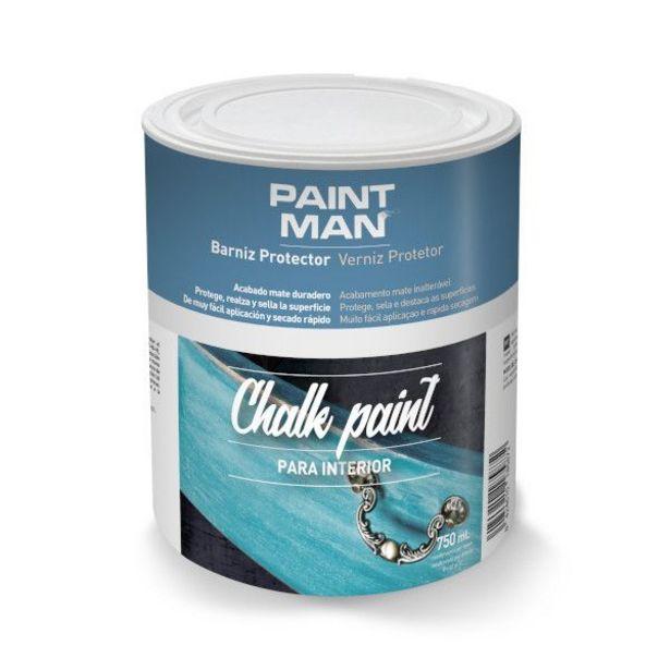 Oferta de Barniz para acabado de muebles Chalk Paint Incoloro 750 ml por 11,45€