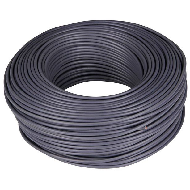 Oferta de CABLE H07V-K 1 X 2,5 - 100 M GRIS por 28,4€