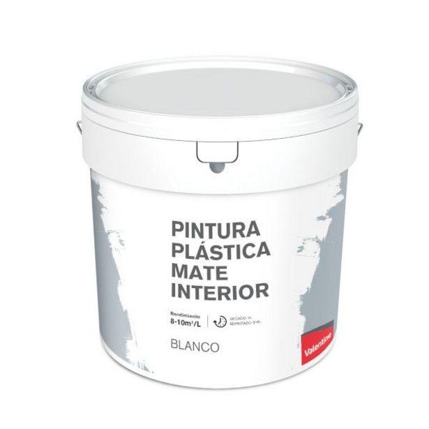 Oferta de PINTURA INTERIOR BLANCA VALENTINE 15L por 17,95€