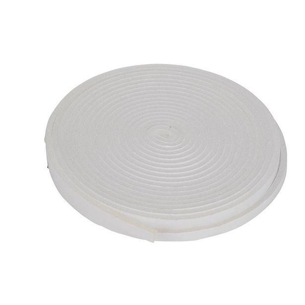 Oferta de BURLETE ESPUMA 9 mm x 10 m BLANCO por 1,65€