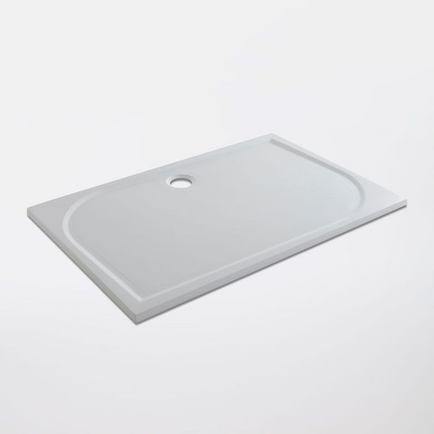 Oferta de Plato de Ducha Mineral Limsky Blanco 70x140 cm por 129€