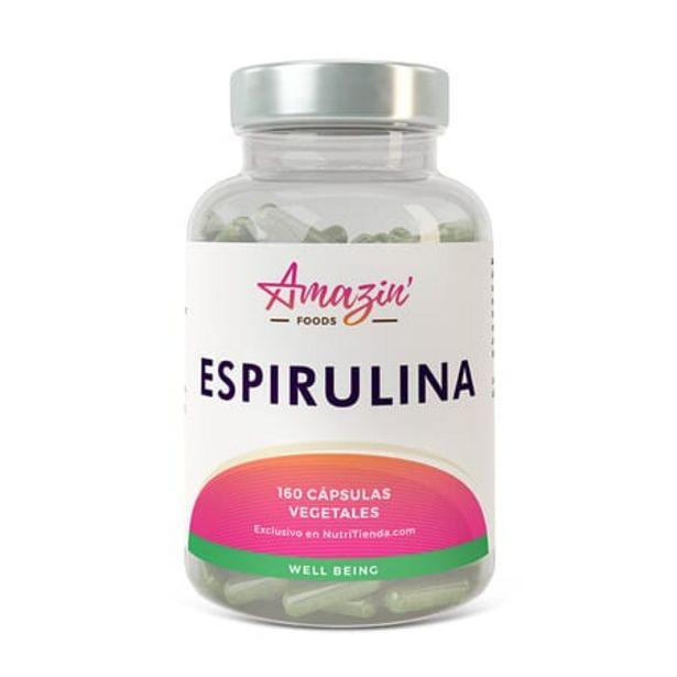 Oferta de ESPIRULINA 160 VCaps por 7,99€