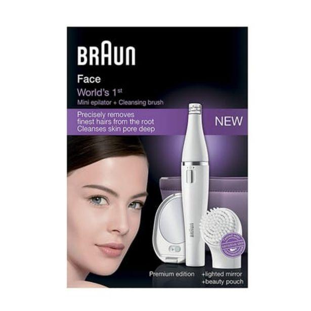 Oferta de Braun Facespa Cuidado Facial Premium Silk Epil 830 por 57,9€