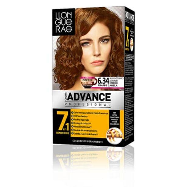 Oferta de Color Advance #6,34-Rubio Oscuro Dorado Cobrizo por 5,61€