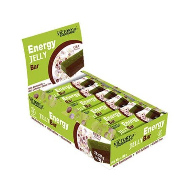 Oferta de Energy Jelly Bar Caffeine 32g 24 Barritas por 30,48€
