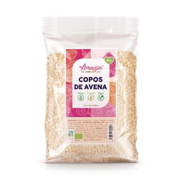 Oferta de Copos de Avena Integrales Sin Gluten Bio 500g por 2,99€