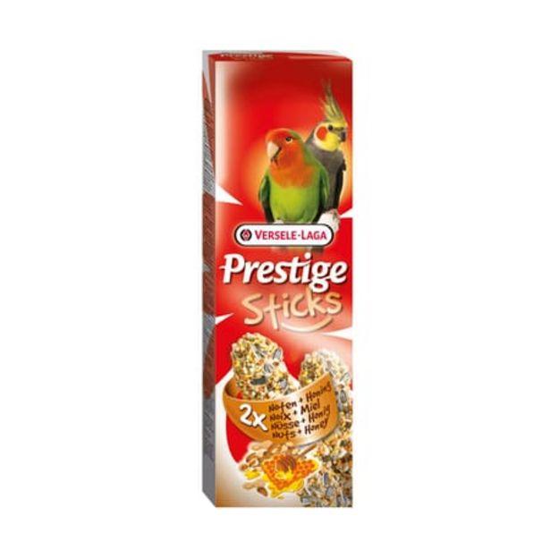 Oferta de Prestige Sticks Para Agapornis Ninfas Nueces Y Miel 2 x 30g por 3,78€