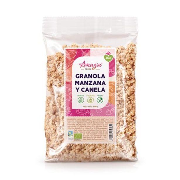 Oferta de Granola Manzana y Canela Bio Sin gluten 400g por 4,49€