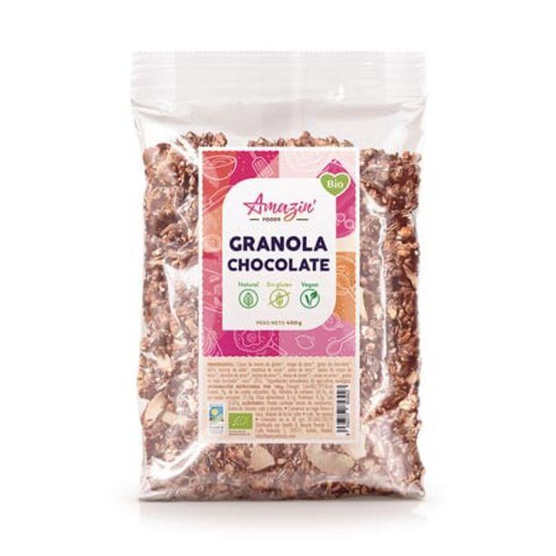 Oferta de Granola Chocolate Bio Sin Gluten 400g por 4,49€