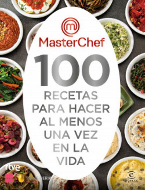 Oferta de 100 recetas para hacer al menos una vez en la vida por 21,9€