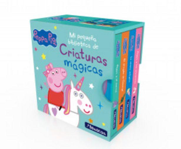 Oferta de Mi pequeña biblioteca de criaturas mágicas. Sirenas, unicornios, narvales y dragones (Peppa Pig) por 8,95€
