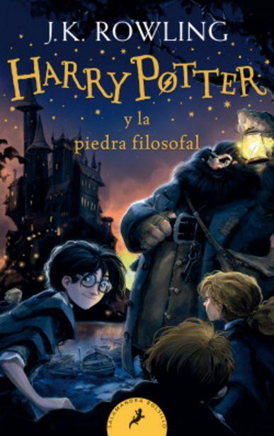 Oferta de Harry Potter y la piedra filosofal (Harry Potter 1) por 8€
