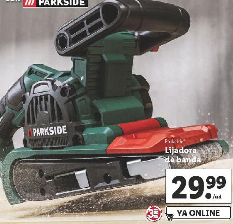 Oferta de Lijadora Parkside por 29,99€