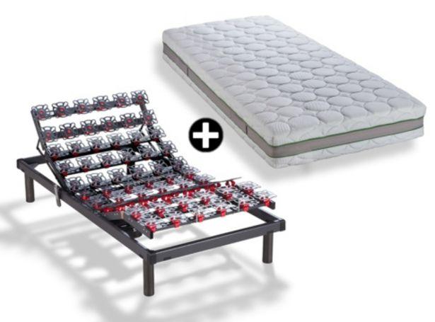 Oferta de Somier articulado con colchón de látex + almohada deREGALO MODELO RIDE + NATUREL por 1712€