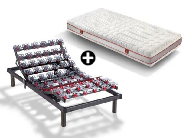Oferta de Somier articulado con colchón de visco + almohada deREGALO MODELO RIDE + CITRA por 1483€