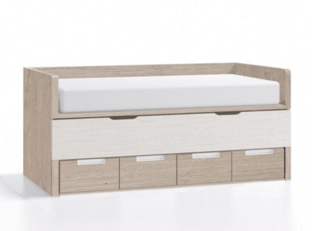 Oferta de Compacto 4 contenedores y 2 camas MODELO SUSAN por 1254€