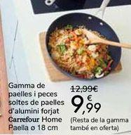 Oferta de Gama de sartenes y despiece de sartenes de aluminio forjado Carrefour Home  por 9,99€