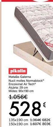 Oferta de Pikolin Colchón Galerna por 529€