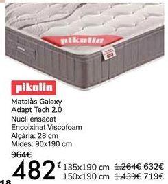 Oferta de Pikolin Colchón Galaxy ADAPT TECH 2.0 por 482€