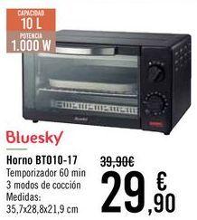 Oferta de Bluesky Horno BT010-17 por 29,9€