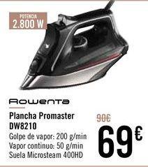 Oferta de ROWENTA Plancha Promaster DW8210 por 69€