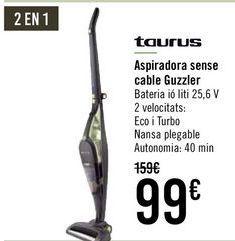 Oferta de Taurus Aspirador sin cable Guzzler  por 95€