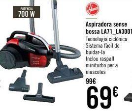 Oferta de Aspirador sin bolsa LA71-LA30011  por 65€